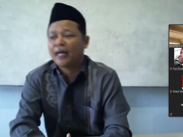 Pengajian Bulanan Komite SMAIT Raudhatul Jannah Cilegon Dilaksanakan Secara Daring