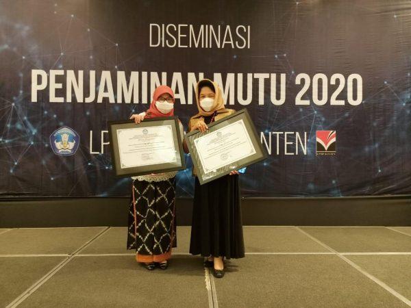 SMAIT Raudhatul Jannah Cilegon Kembali Mendapat Penghargaan dari LPMP Sebagai Sekolah yang Sudah Melakukan Praktik Terbaiknya Dalam Pelaksanaan Sistem Penjaminan Mutu Internal di Masa Pandemi se Prov. Banten